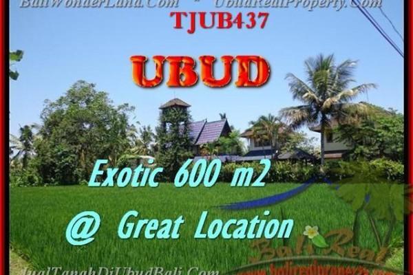 TANAH MURAH di UBUD BALI 6 Are View sawah link villa