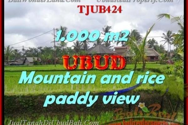 TANAH DIJUAL di UBUD Untuk INVESTASI TJUB424