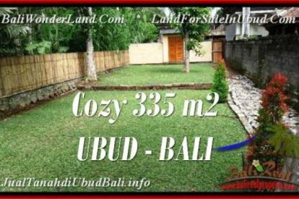 TANAH di UBUD BALI DIJUAL MURAH 3.35 Are View kebun