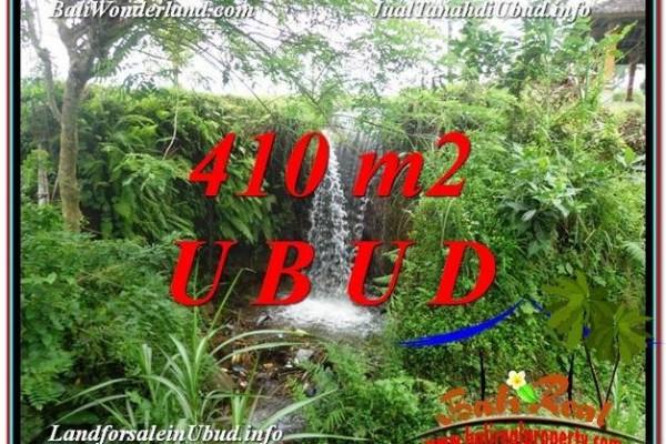 TANAH DIJUAL MURAH di UBUD BALI 410 m2 di Ubud Tegalalang