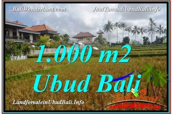 TANAH di UBUD BALI DIJUAL TJUB618