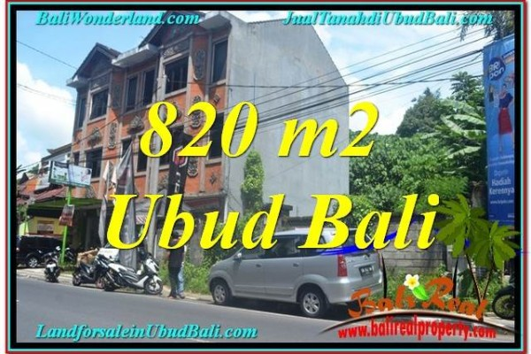 JUAL TANAH di UBUD 8 Are Pinggir jalan Raya Ubud