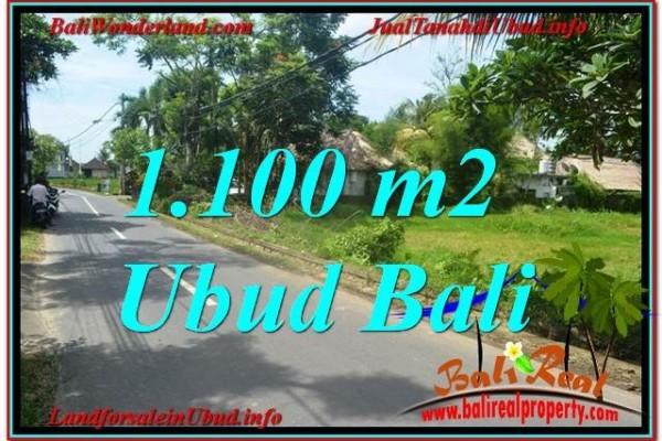JUAL TANAH di UBUD BALI 11 Are View Sawah, Sungai Kecil, Link. Villa