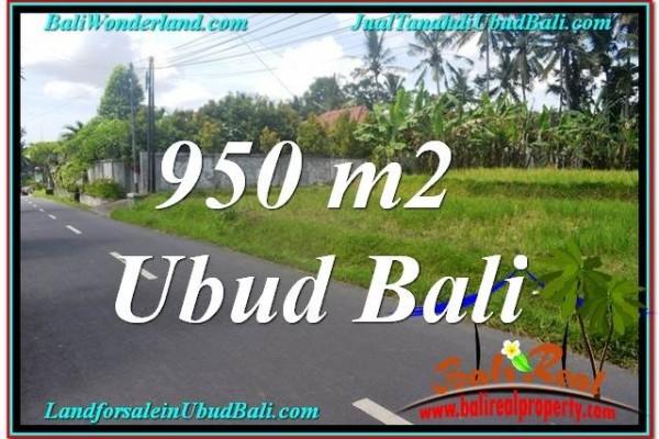 TANAH di UBUD BALI DIJUAL MURAH 10 Are View Sawah dan Sungai Kecil, Link. Villa