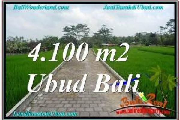 JUAL TANAH MURAH di UBUD 41 Are VIEW SUNGAI, LINGKUNGAN VILLA