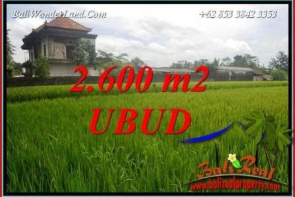 Tanah Dijual Murah di Ubud TJUB701