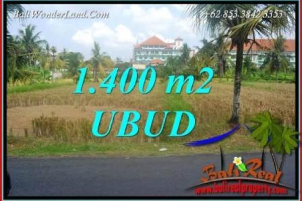 Tanah Murah Dijual di Ubud 14 Are di Sentral Ubud