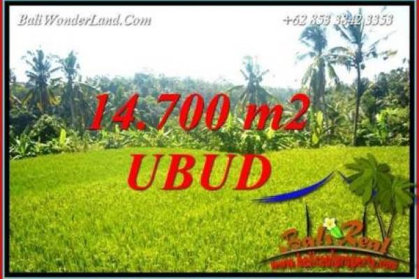 Dijual Murah Tanah di Ubud Bali 14,700 m2 di Ubud Tegalalang