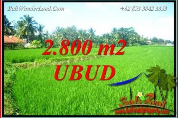Investasi Property, Tanah Murah di Ubud Dijual TJUB726