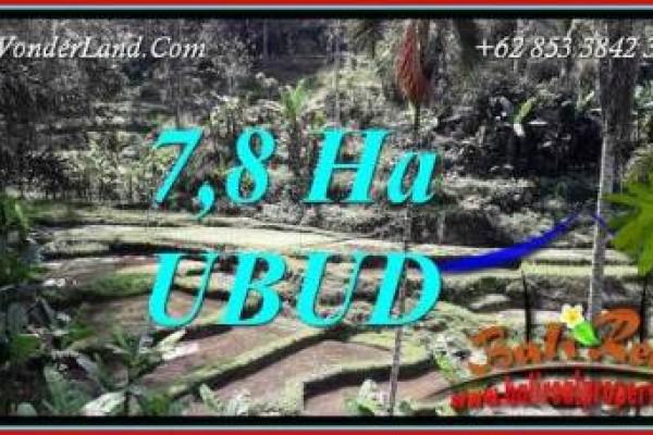 Dijual Murah Tanah di Ubud Bali 780 Are di Ubud Payangan
