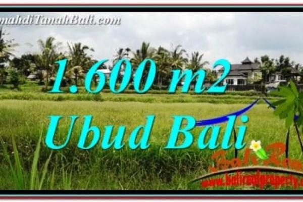INVESTASI PROPERTY, TANAH MURAH di UBUD BALI DIJUAL TJUB756