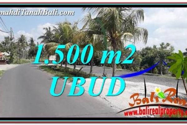 JUAL TANAH di UBUD Untuk INVESTASI TJUB758