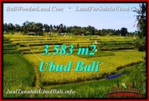 DIJUAL MURAH TANAH di UBUD Untuk INVESTASI TJUB542