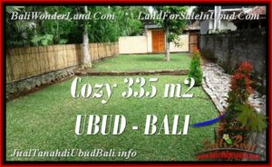 INVESTASI PROPERTI, TANAH MURAH DIJUAL di UBUD BALI TJUB537