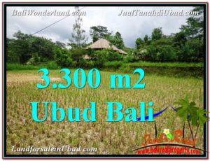 DIJUAL TANAH di UBUD BALI 3,300 m2 di Ubud Tampak Siring