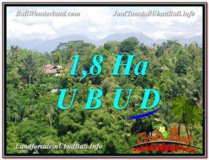 JUAL TANAH di UBUD BALI 180 Are View pangkung link Villa