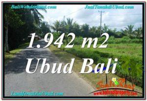 INVESTASI PROPERTY, JUAL TANAH MURAH di UBUD BALI TJUB626