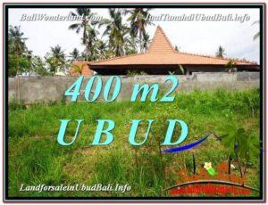 TANAH MURAH di UBUD BALI DIJUAL 400 m2 View Kebun Link Villa