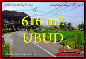 TANAH MURAH di UBUD BALI 616 m2 di Sentral Ubud