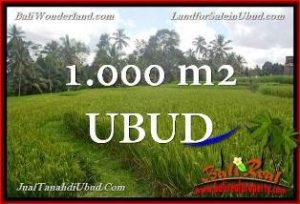TANAH di UBUD BALI DIJUAL MURAH Untuk INVESTASI TJUB653