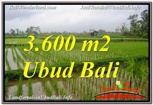 INVESTASI PROPERTI, TANAH DIJUAL di UBUD BALI TJUB673