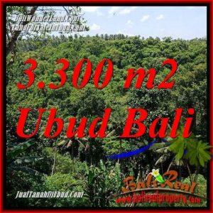 Dijual Murah Tanah di Ubud 3,300 m2 di Sentral Ubud