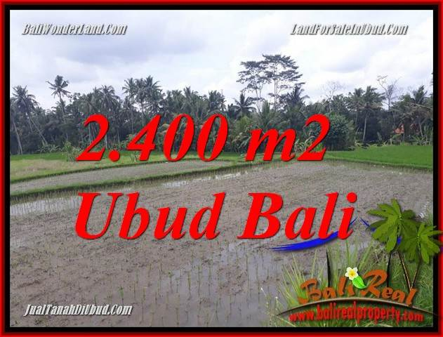 Dijual Tanah Murah di Ubud Bali Untuk Investasi TJUB697
