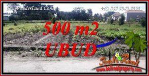 Dijual Murah Tanah di Ubud Untuk Investasi TJUB720