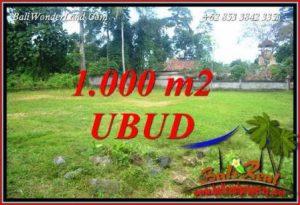 Tanah Murah di Ubud Dijual Untuk Investasi TJUB728