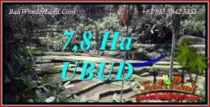 JUAL Tanah di Ubud Bali 780 Are View sawah, tebing dan sungai