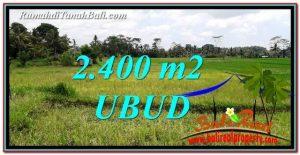 TANAH MURAH DIJUAL di UBUD 2,400 m2 di Ubud Tampak Siring